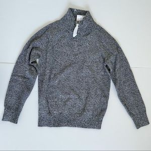NWT Crewcuts J.Crew Quarter Zip Pullover Sweater